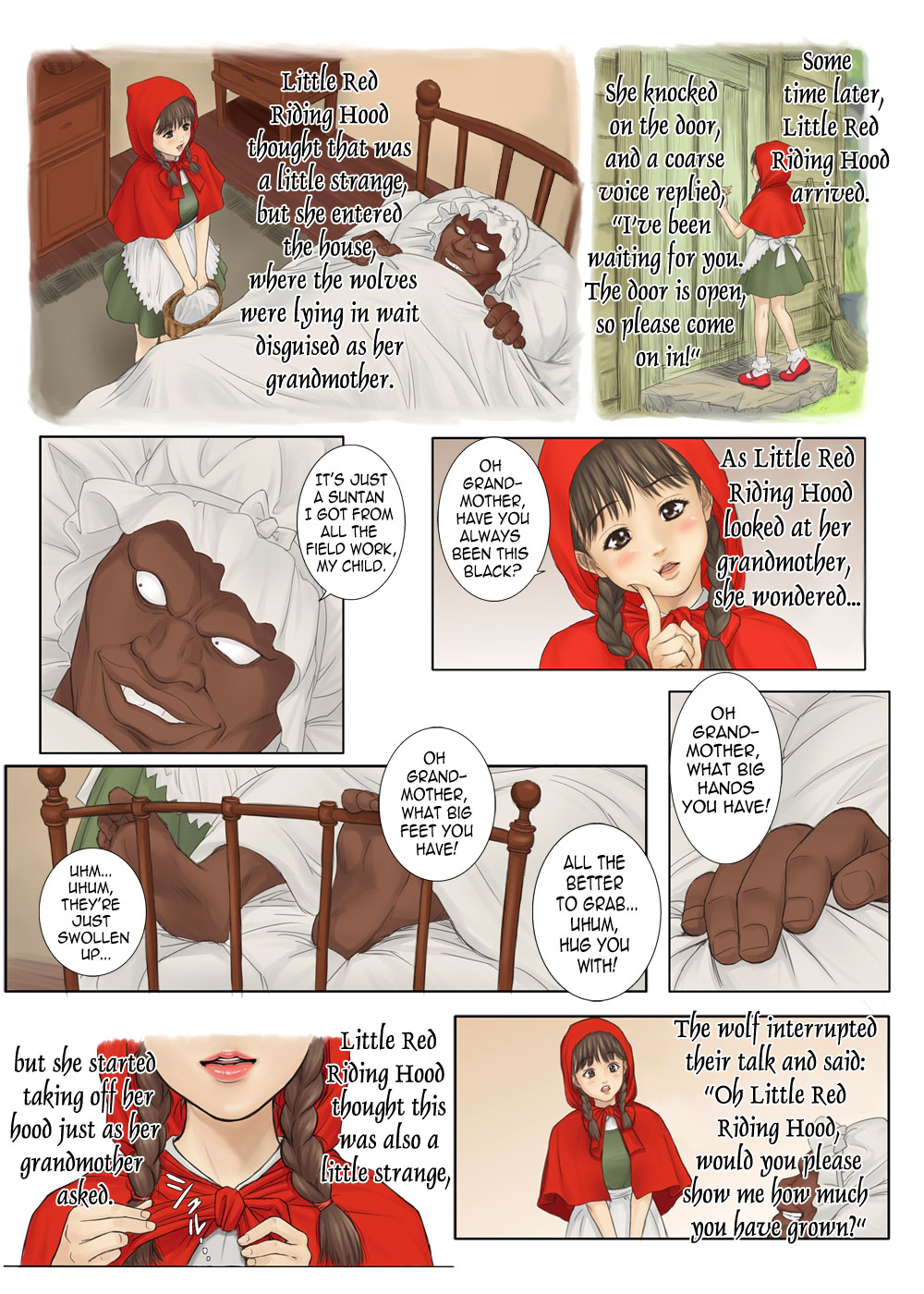 Little Red Riding Hood's Adult Picture Book