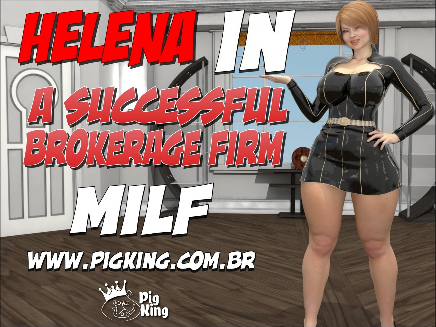 PigKing- Helena in A Successful Brokerage Firm