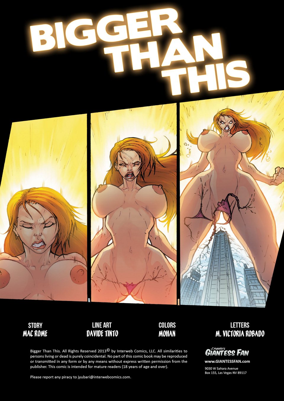 Giant Girl-Bigger Than This - Free Adult Porn Comix