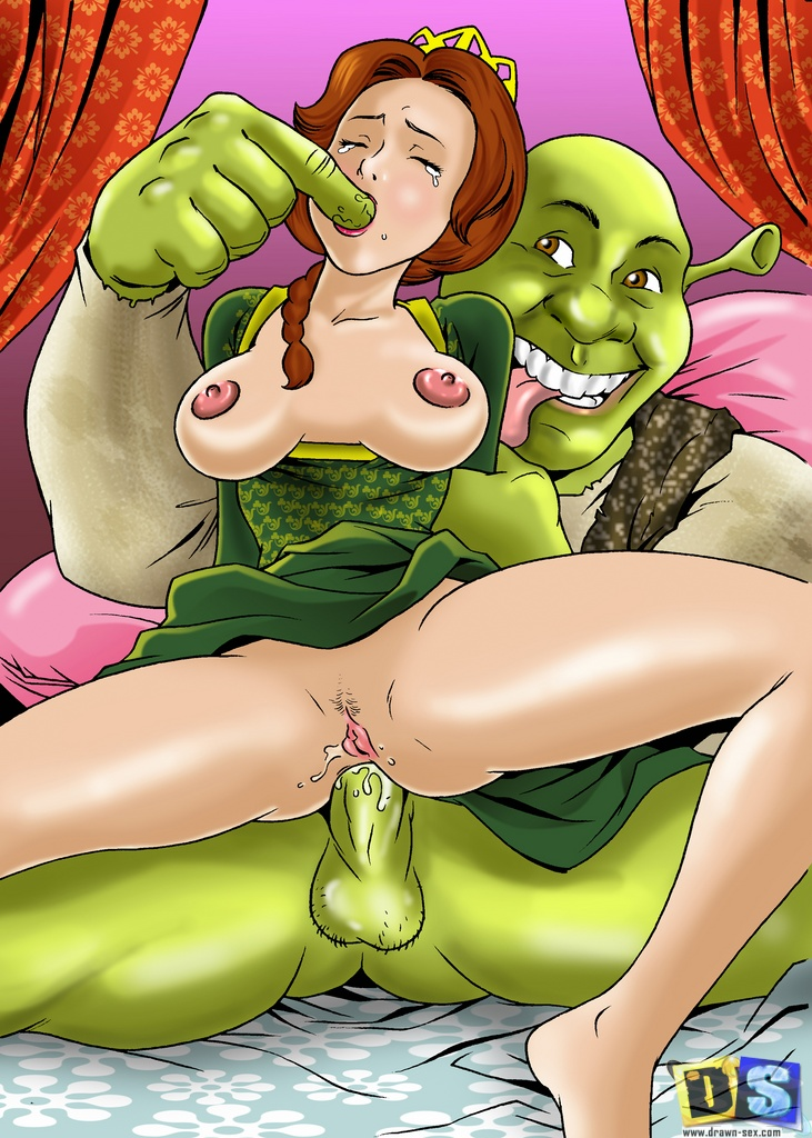 Shrek's Dreamland- Drawn Sex
