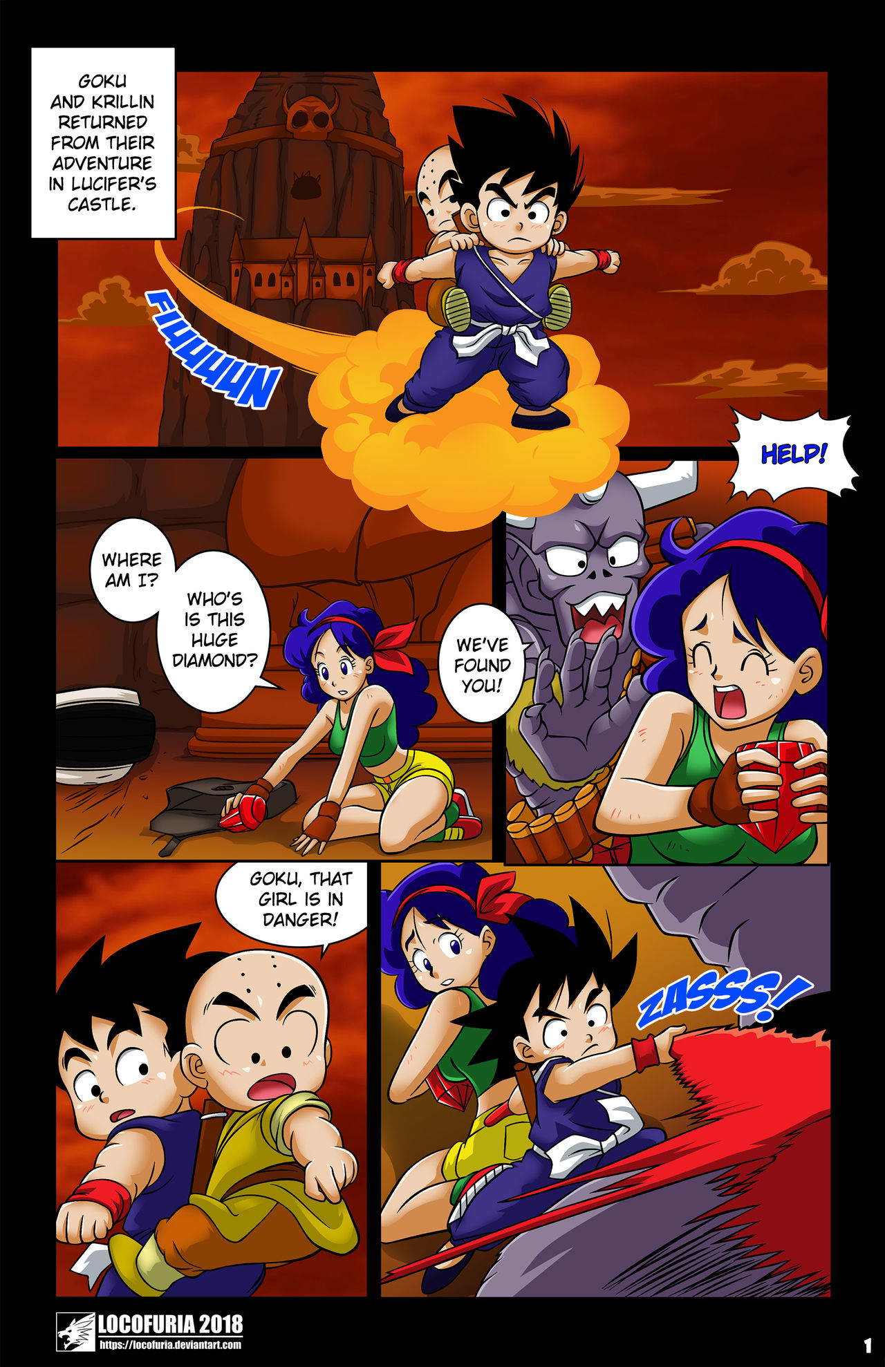 Evil Coronation #2 (Dragon Ball) by Dante Mondego