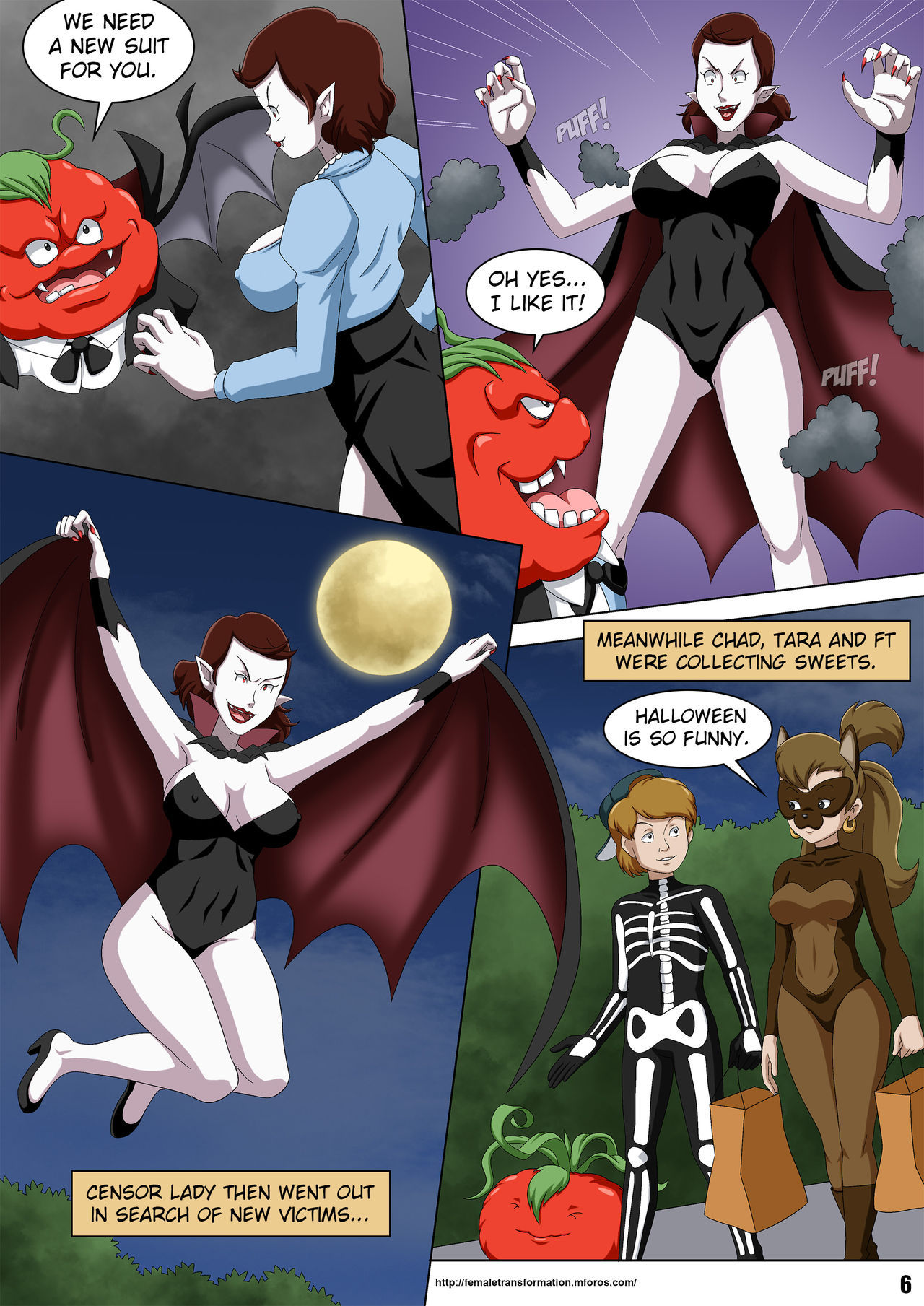 Palcomix- Vamp Or Treat by Locofuria