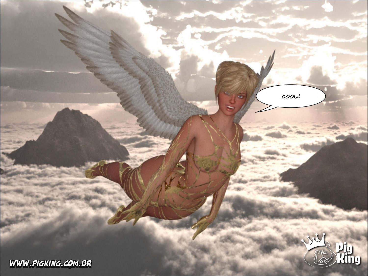 PigKing Shemale – Leonard in Angel's Face