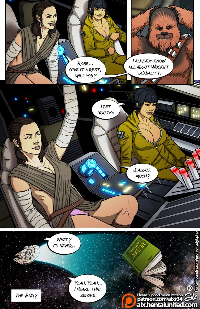Star Wars- A Complete Guide to Wookie Sex – Fuckit