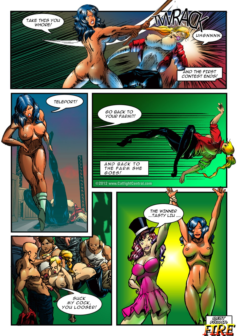 Hipersex Arena Complete Story 1-3
