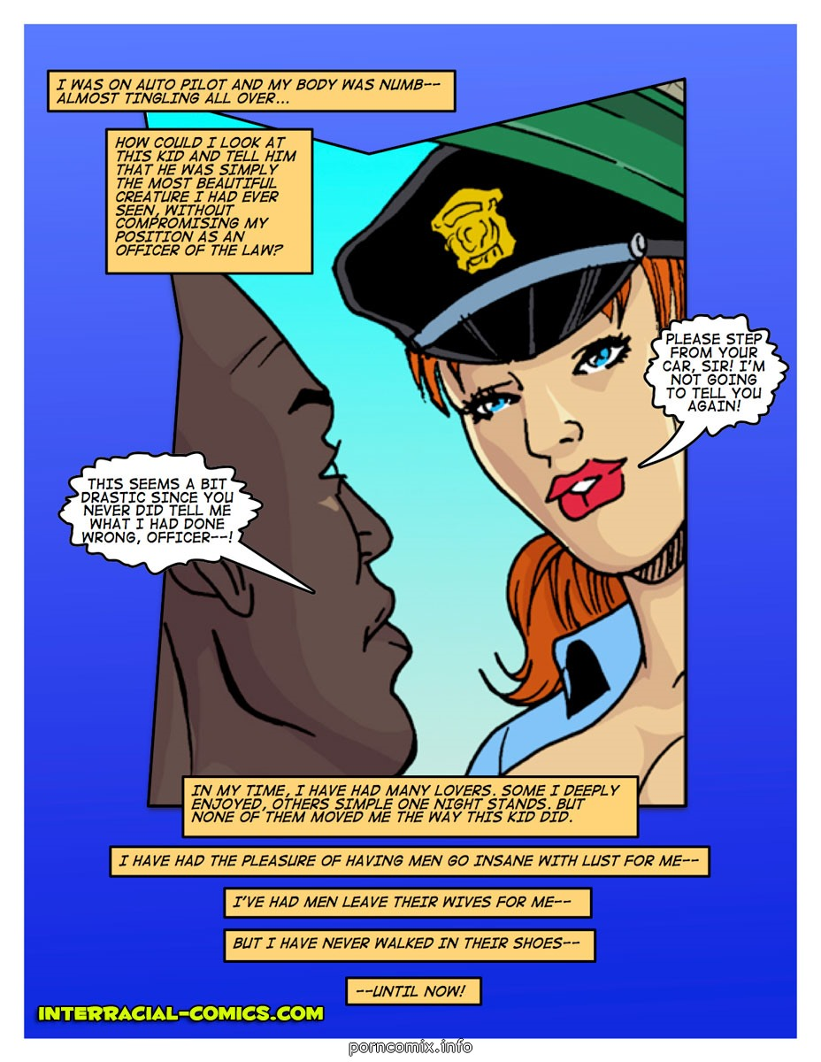 In the line of duty- Interracial