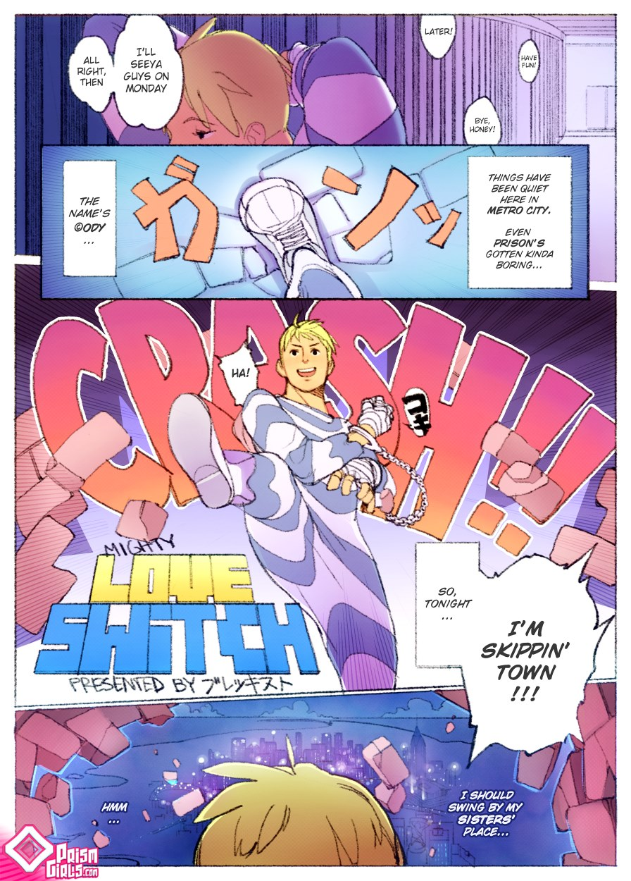 Prism Girls-Mighty Love Switch - Free Adult Porn Comix