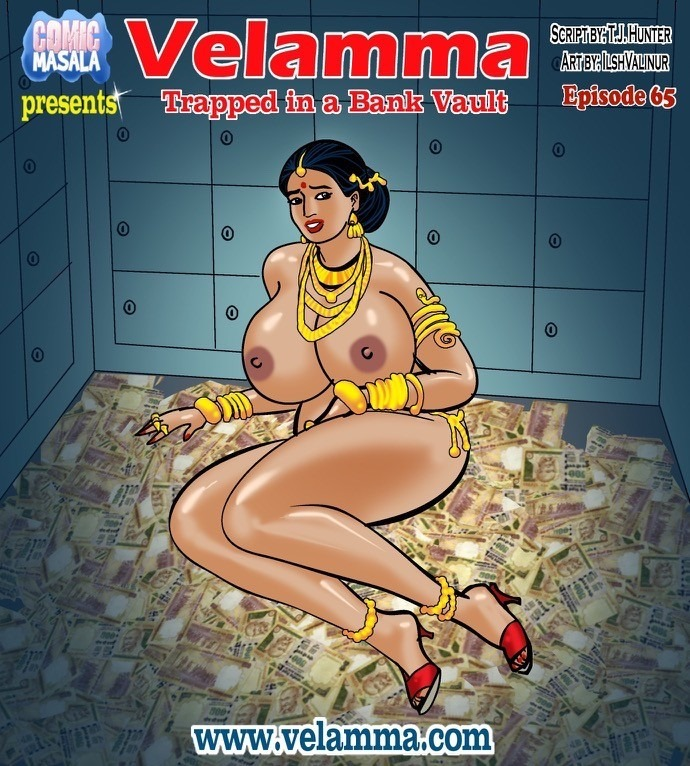 Velamma 65- Trapped in Bank Vault