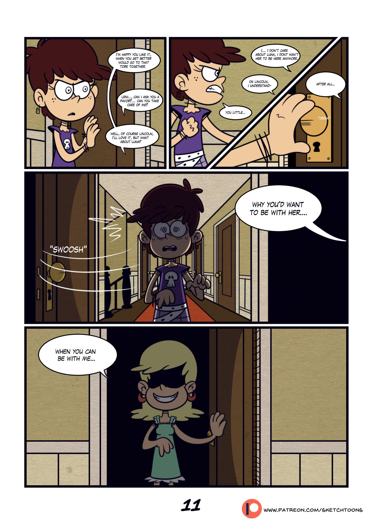 The Secret ch.II- Sketch Toons (The loud house)