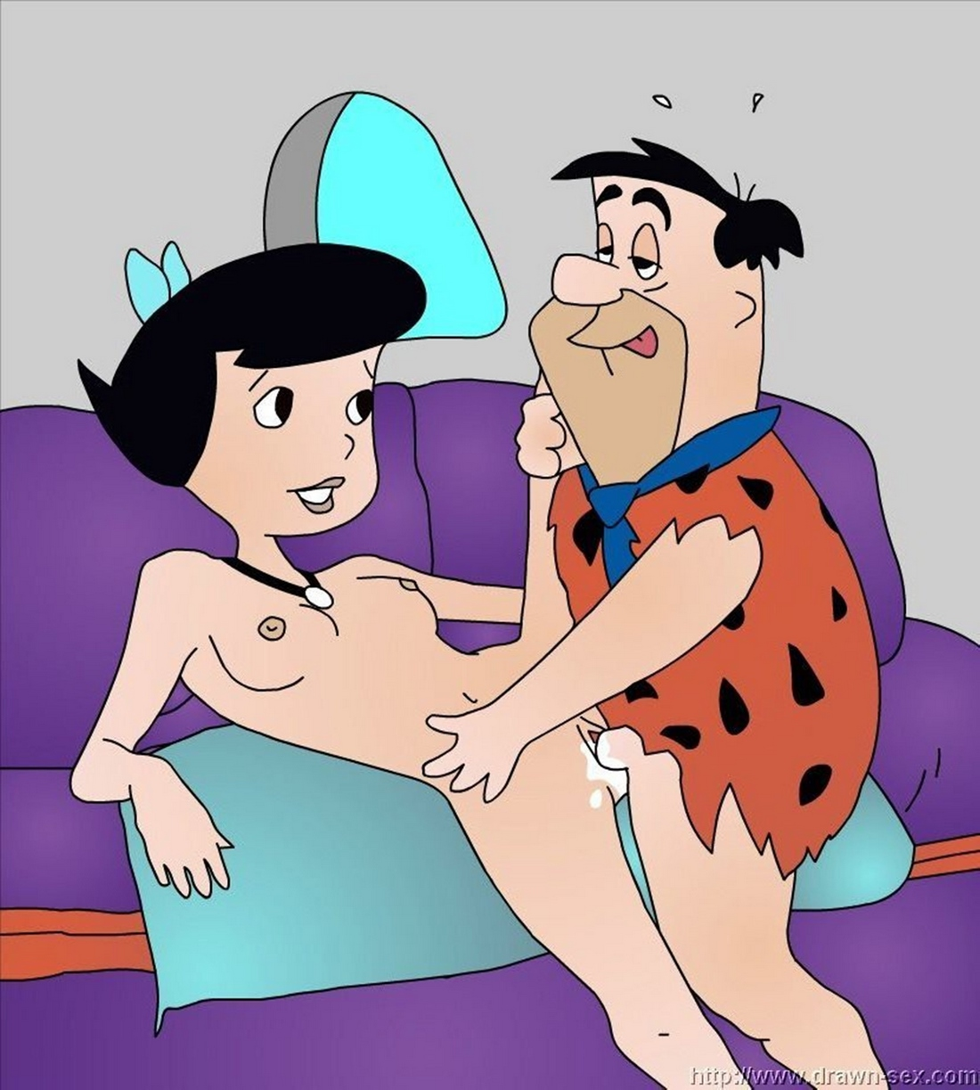 DrawnSex-Flintstones Sex