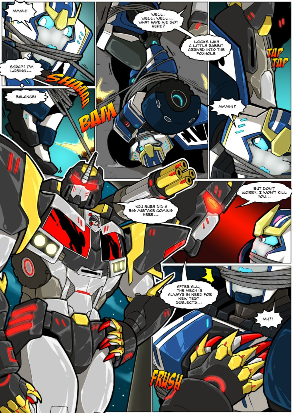 Transformers- Mad Project
