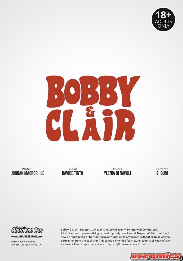 Bobby and Clair Giantess Fan