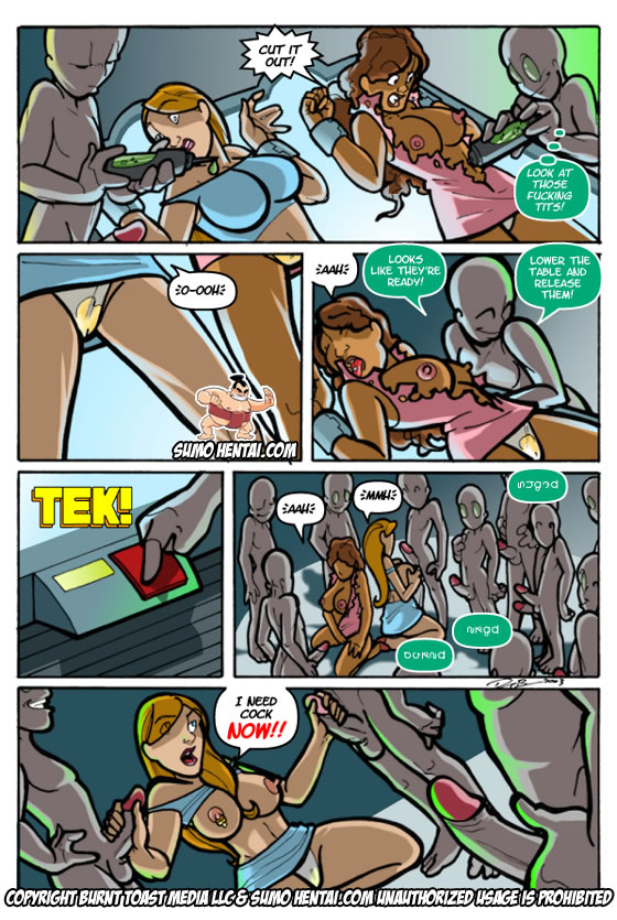 Alien,Monster Sex,Close encounters - Free Adult Porn Comix
