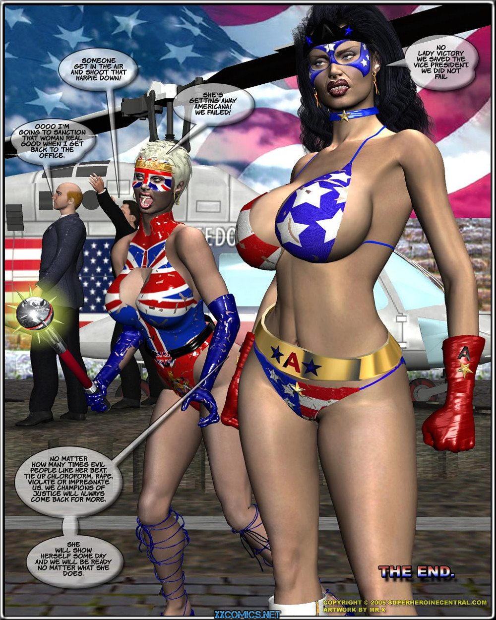 Ms. Americana The Terror of Fourth Reich