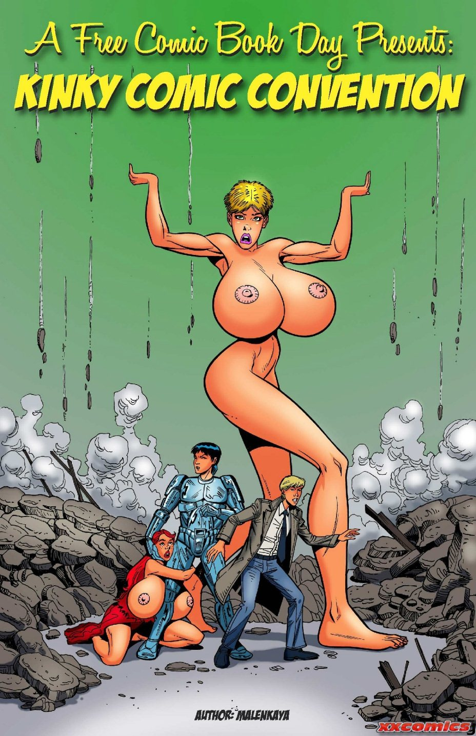 Kinky Comic Convention - Boobs Giant Adult Porn Comix