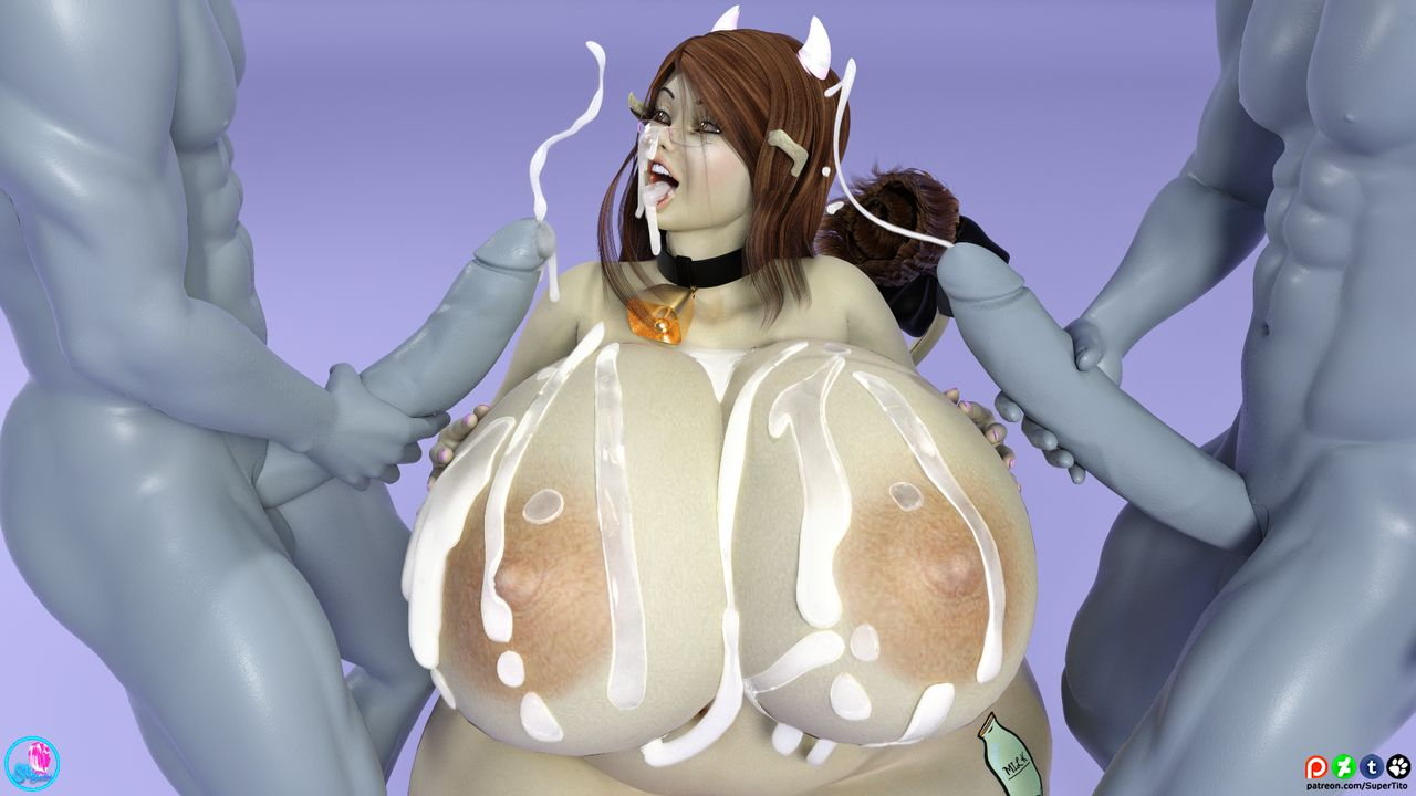 Nilla Lewd- SuperTito, 3D Huge Boobs