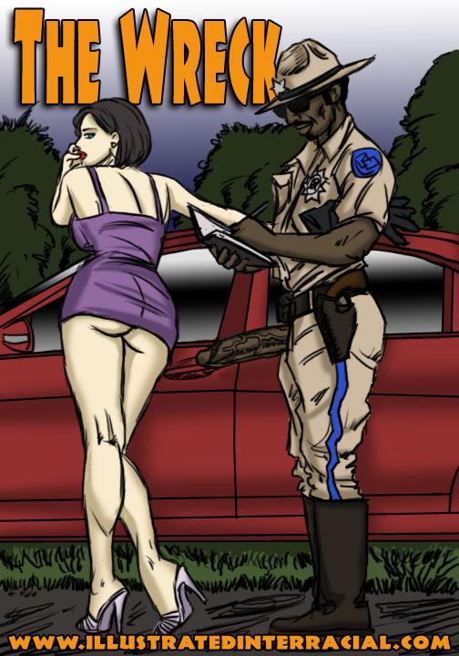 The Wreck- illustrated interracial
