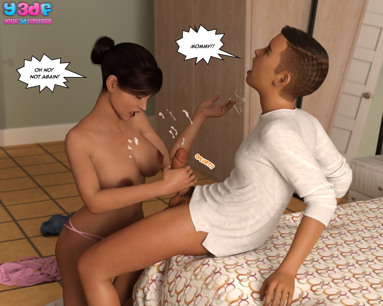 Y3DF – The Tan 2, Mother and Son 3DIncest
