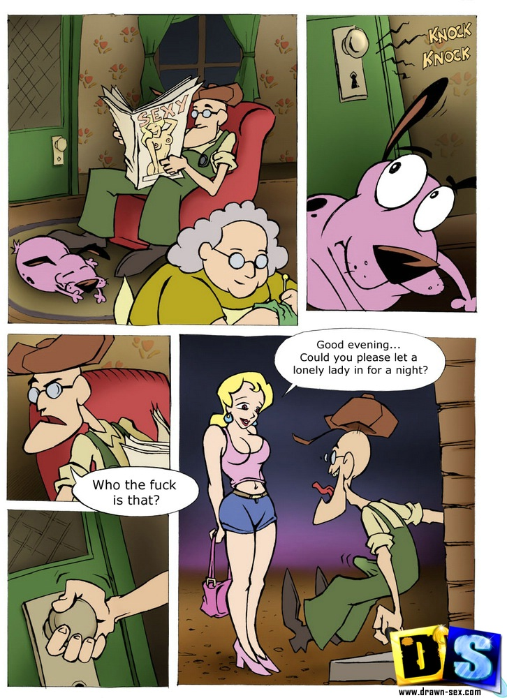 Courage – The Cowardly Dog