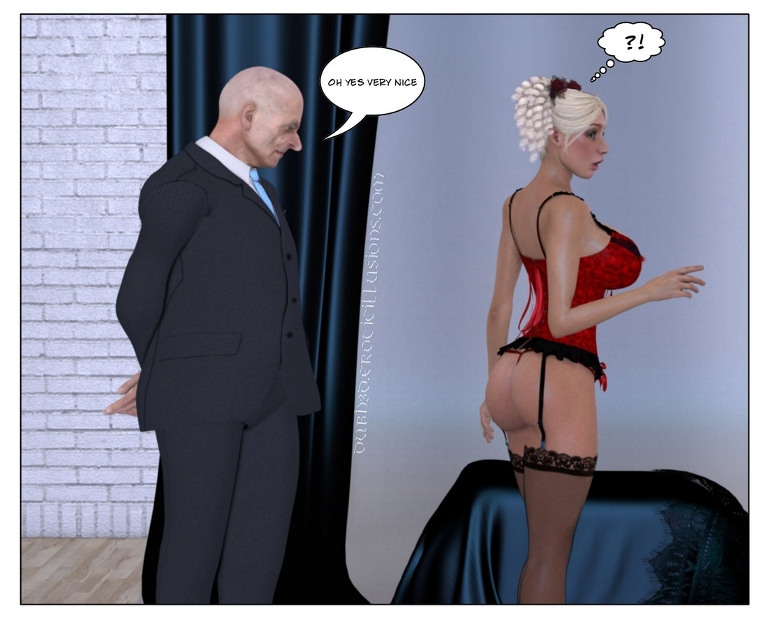 Marie-Claude 'The Proposal' - Old Man Fuck Busty