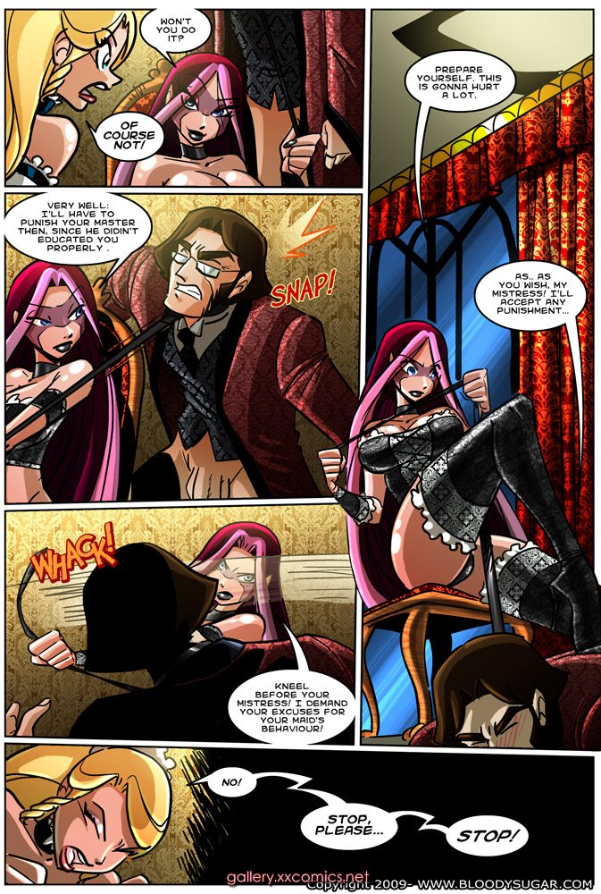 Bloody Sugar 7-8 -Adventures Free Adult Porn Comix