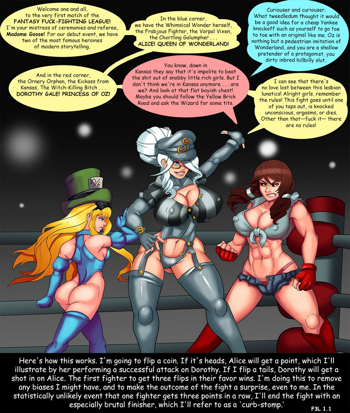 Fantasy Fuck- Fighting League [Markydaysaid]