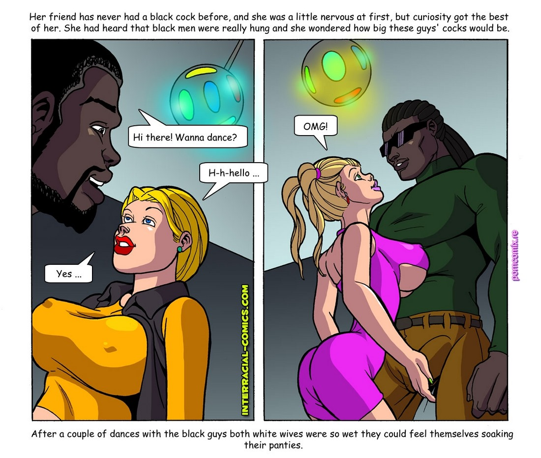 Interracial Wives wanna have fun too 2 - Free Adult Porn Comix