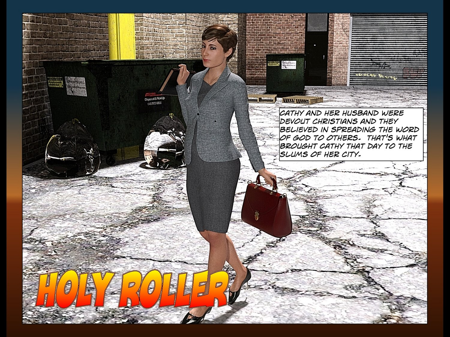 Holy Roller by SonofSailor, 3D Interracial