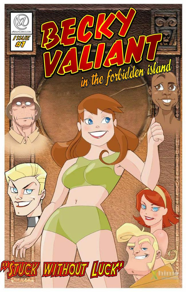 Becky Valiant In The Forbidden Island 2- Stuck Without Luck