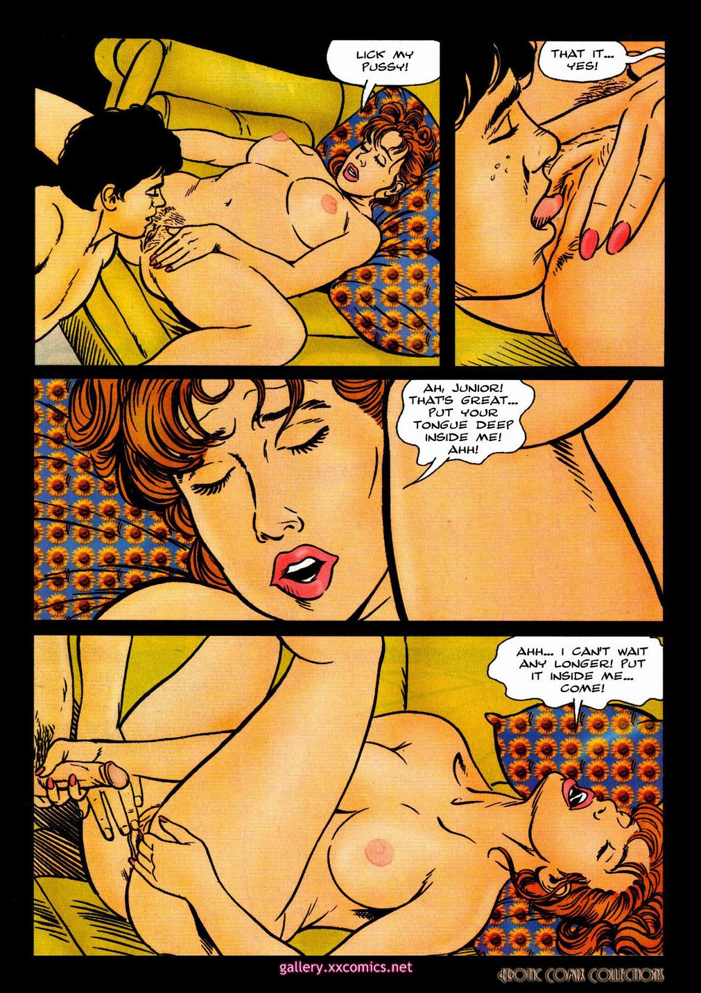 Erotic Comix Collection-Fitness