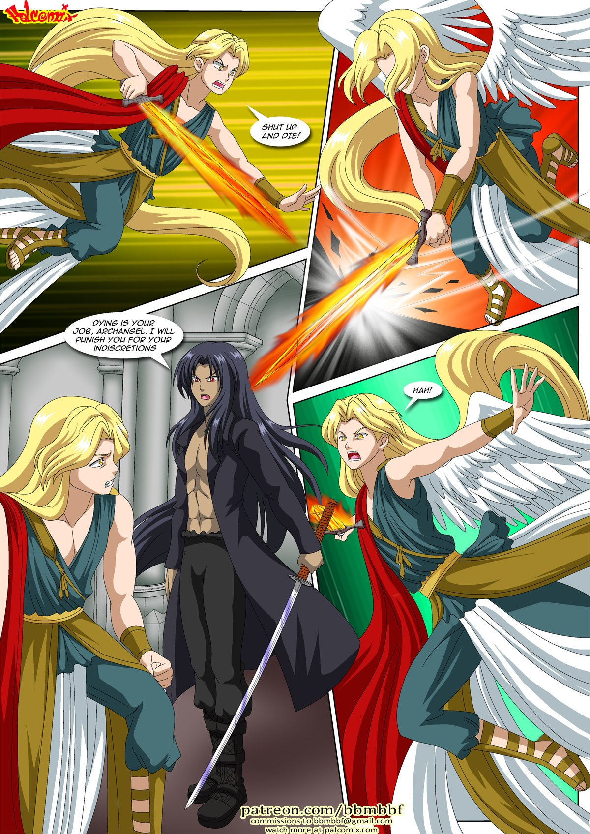 Carnal Kingdom 6: Redemption Part 3 (Angels and Demons) | Porn Comics