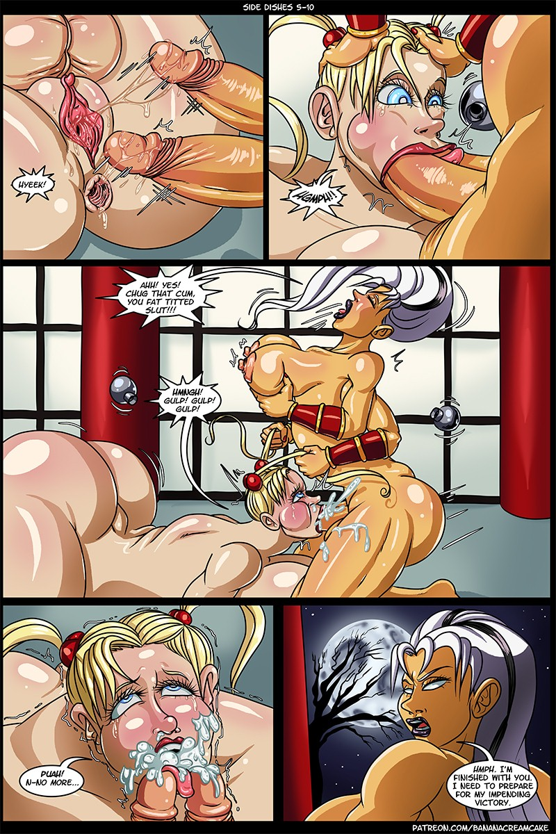 Side Dishes Ch. 5- Futa Fighters (Transmorpher dds)