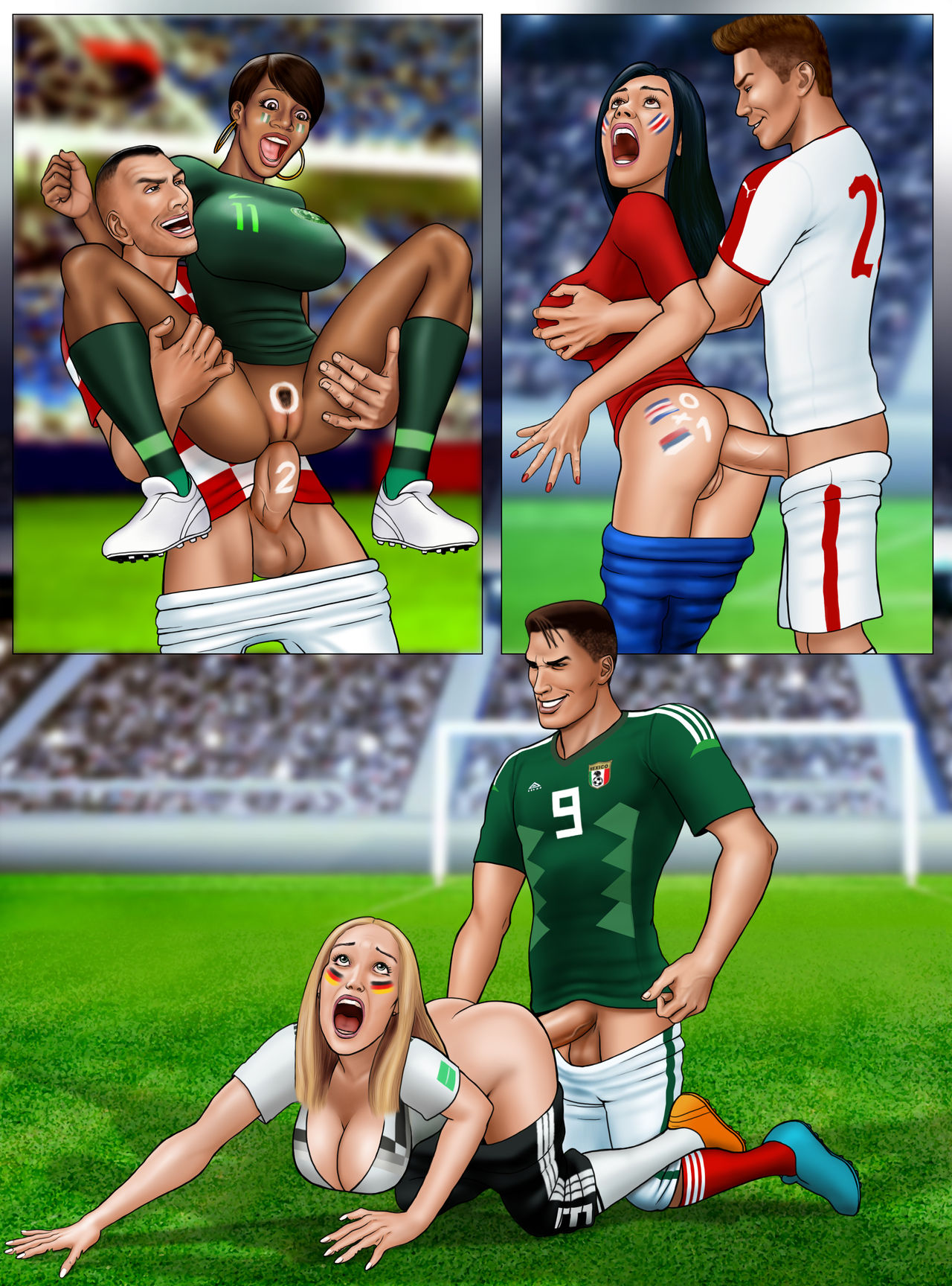 FIFA World Cup Russia 2018- Soccer Hentai by Extro