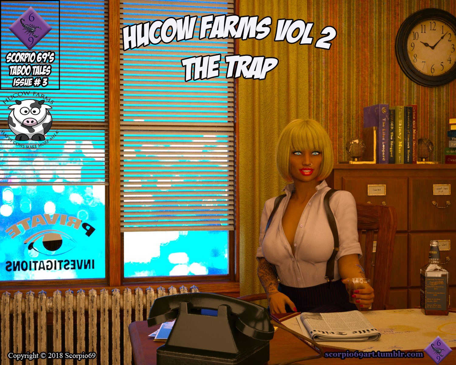 Hucow Farms Vol 2- The Trap by scorpio69