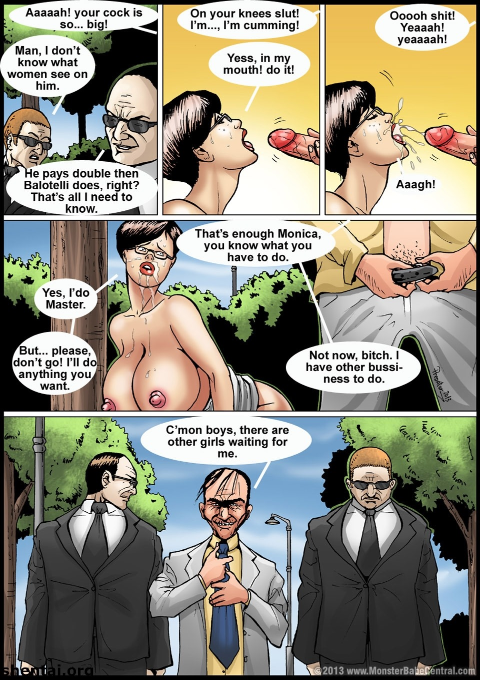 Monsterbabe Central-The Monster 09-10 – Free Adult Porn Comix