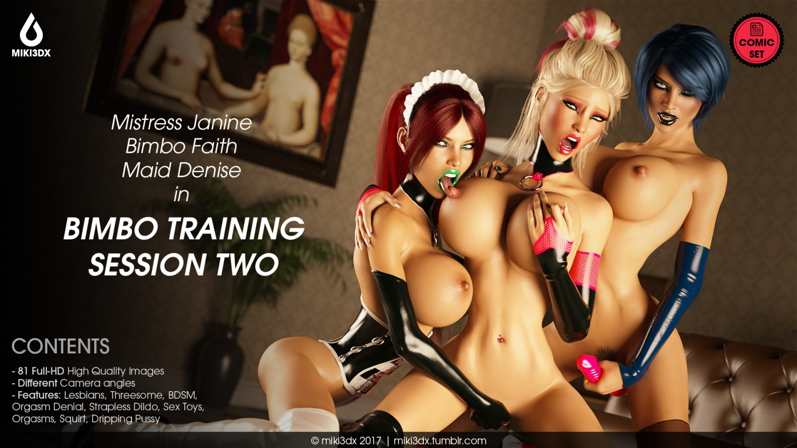 Bimbo Training Session 2- Miki3DX