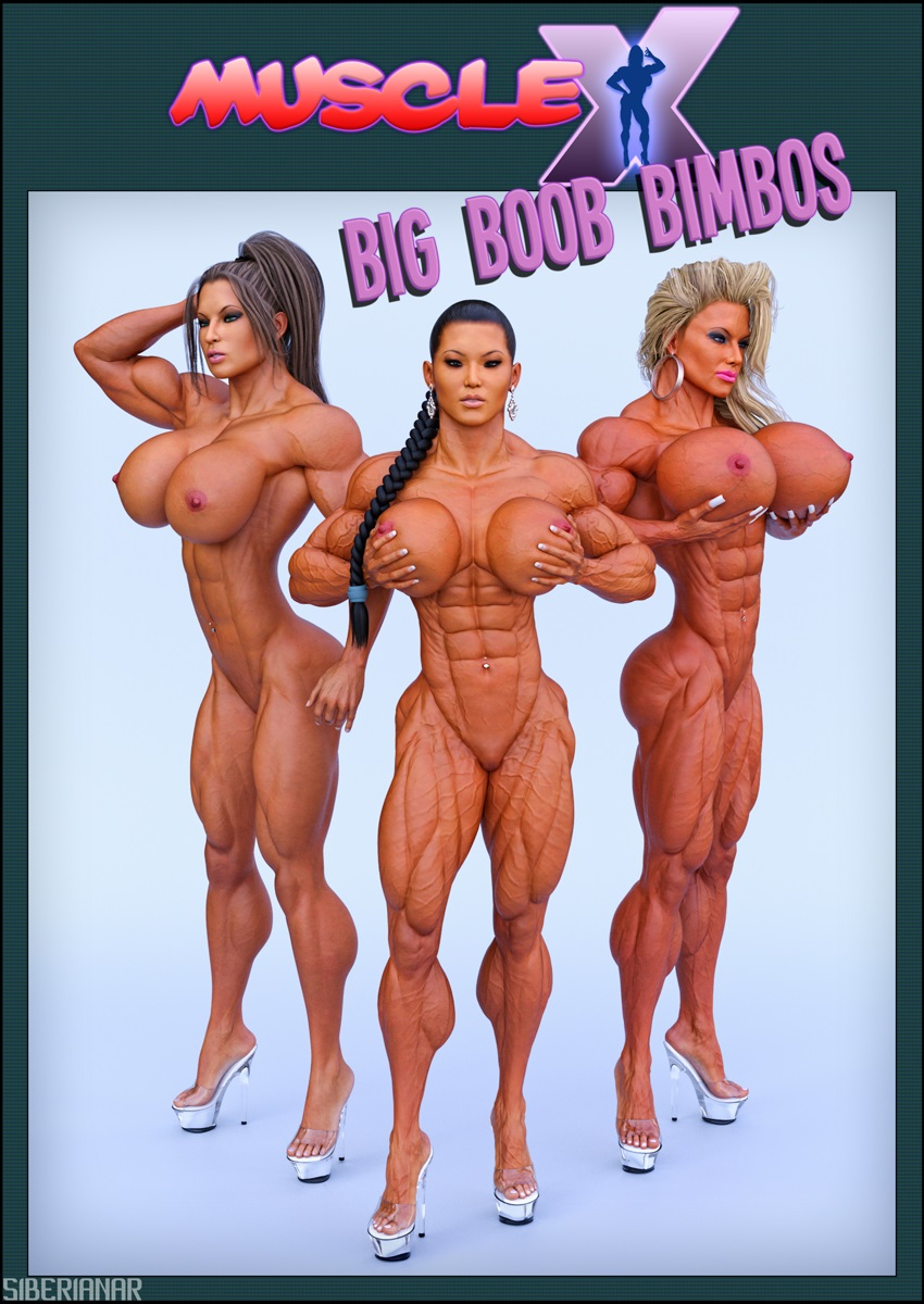 Muscle X – Big and Horny