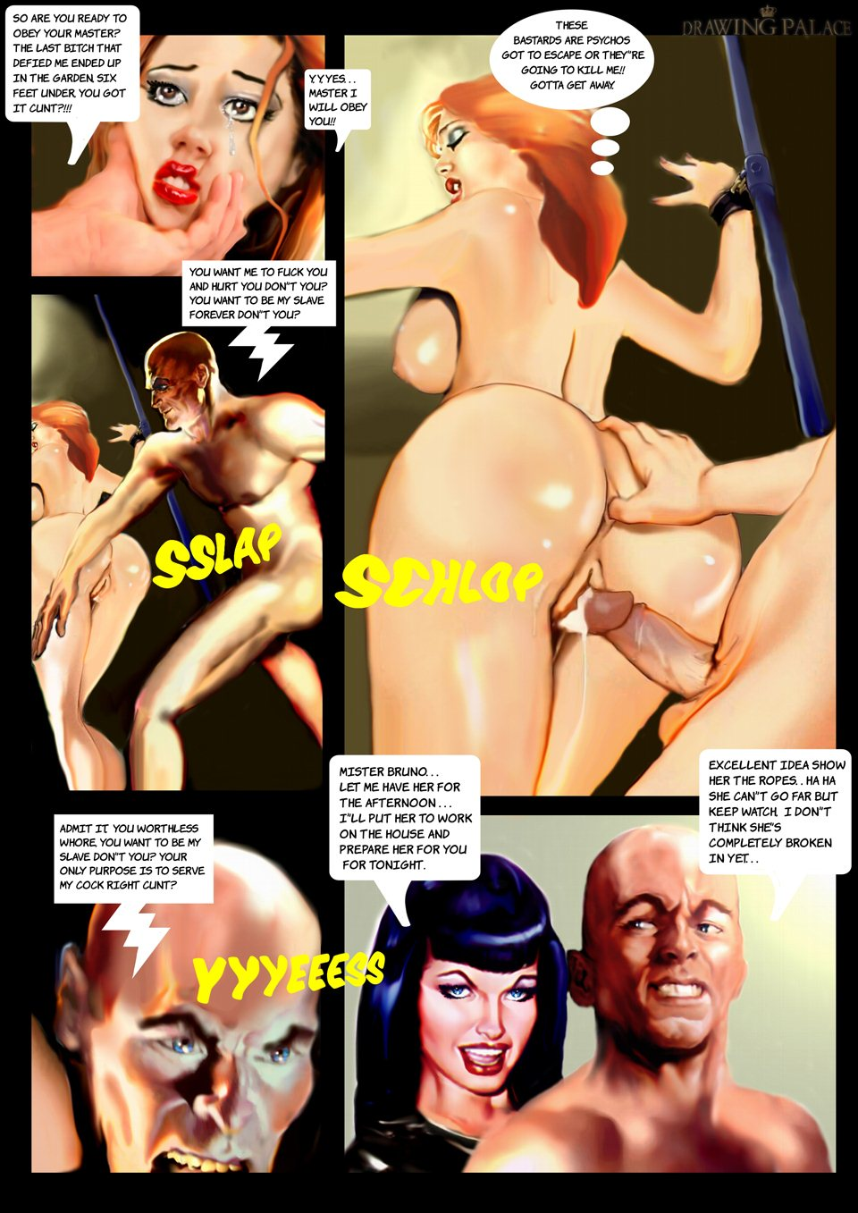 Mailorder Slave- Micheal Peters