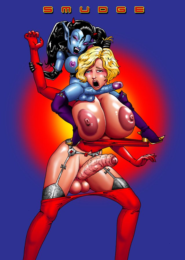 Smudge-Dick Raider – Shemale Adult Porn Comix