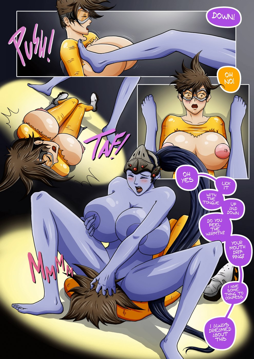 Overwatch X-Secret of Widowmaker- Bill Vicious