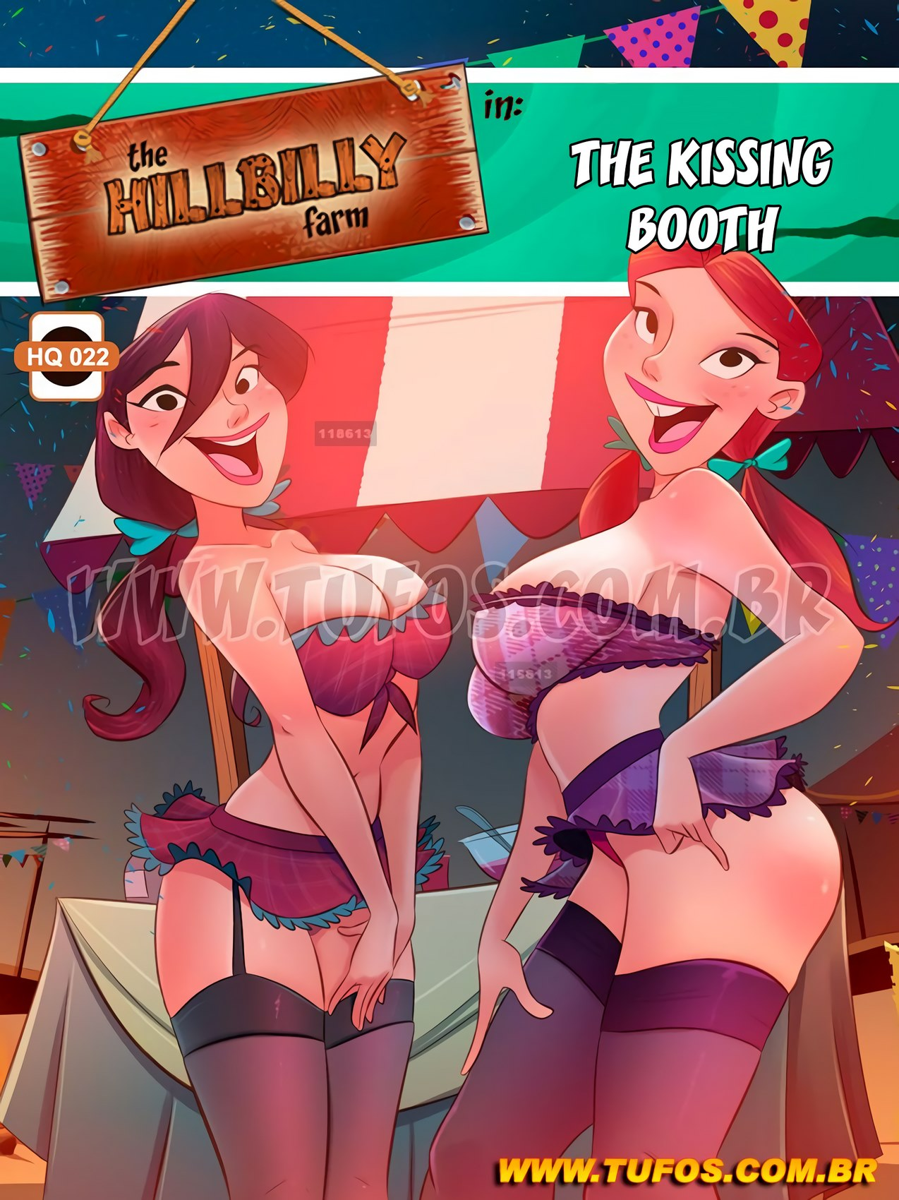 Hillbilly Farm 22- The Kissing Both (Tufos)