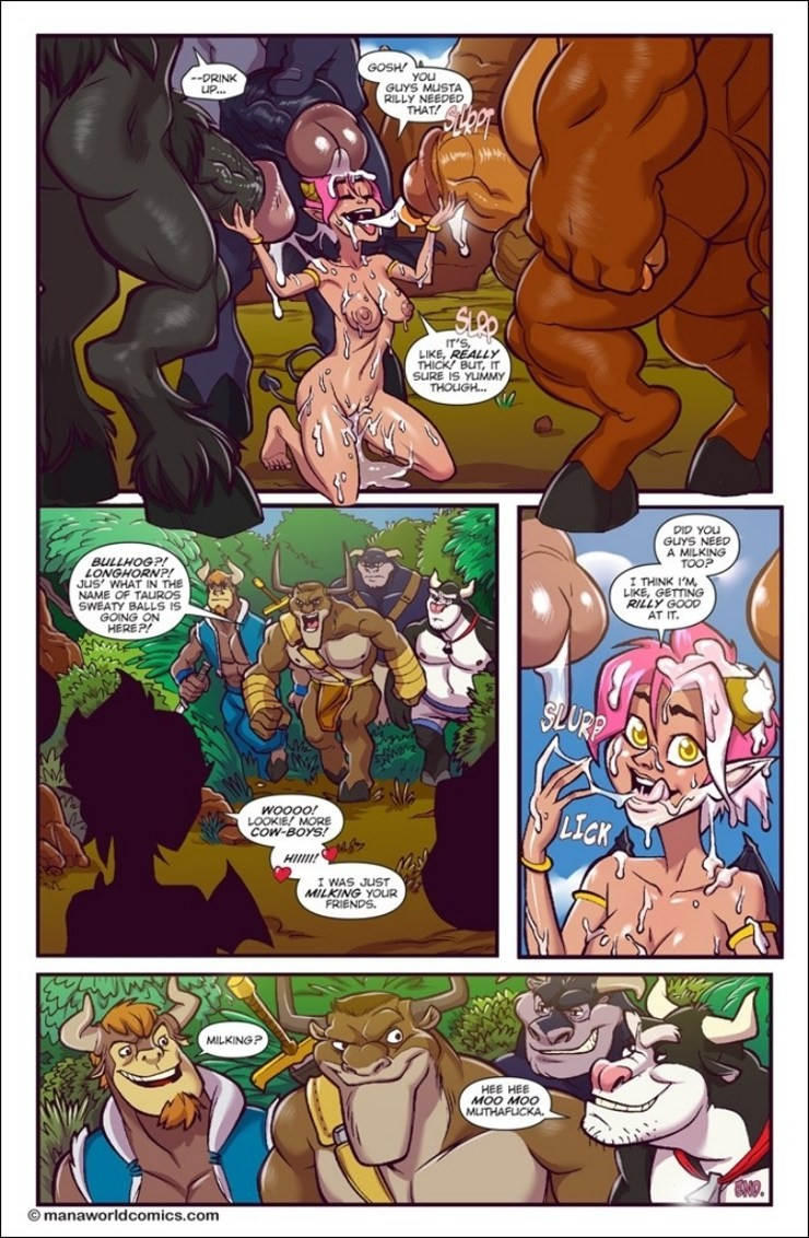 Bull Horns – Monster Cock Adult Porn Comix