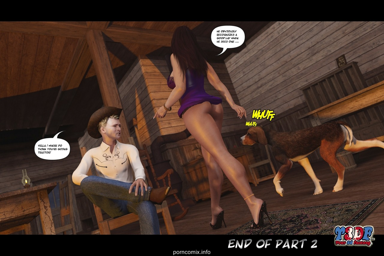 Y3DF The Big Big West 2 – 3D Incest Adult Porn Comix