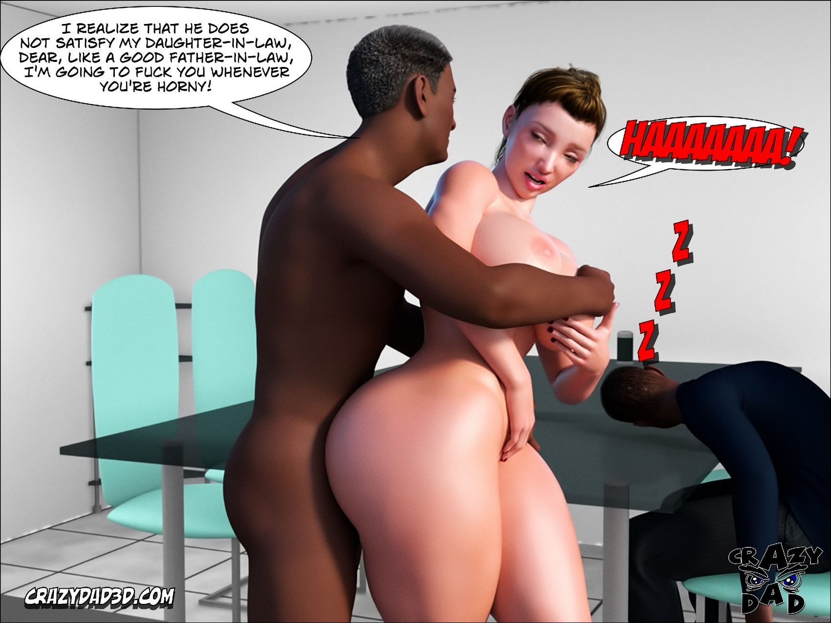 Father In Law At Home 4- CrazyDad3D
