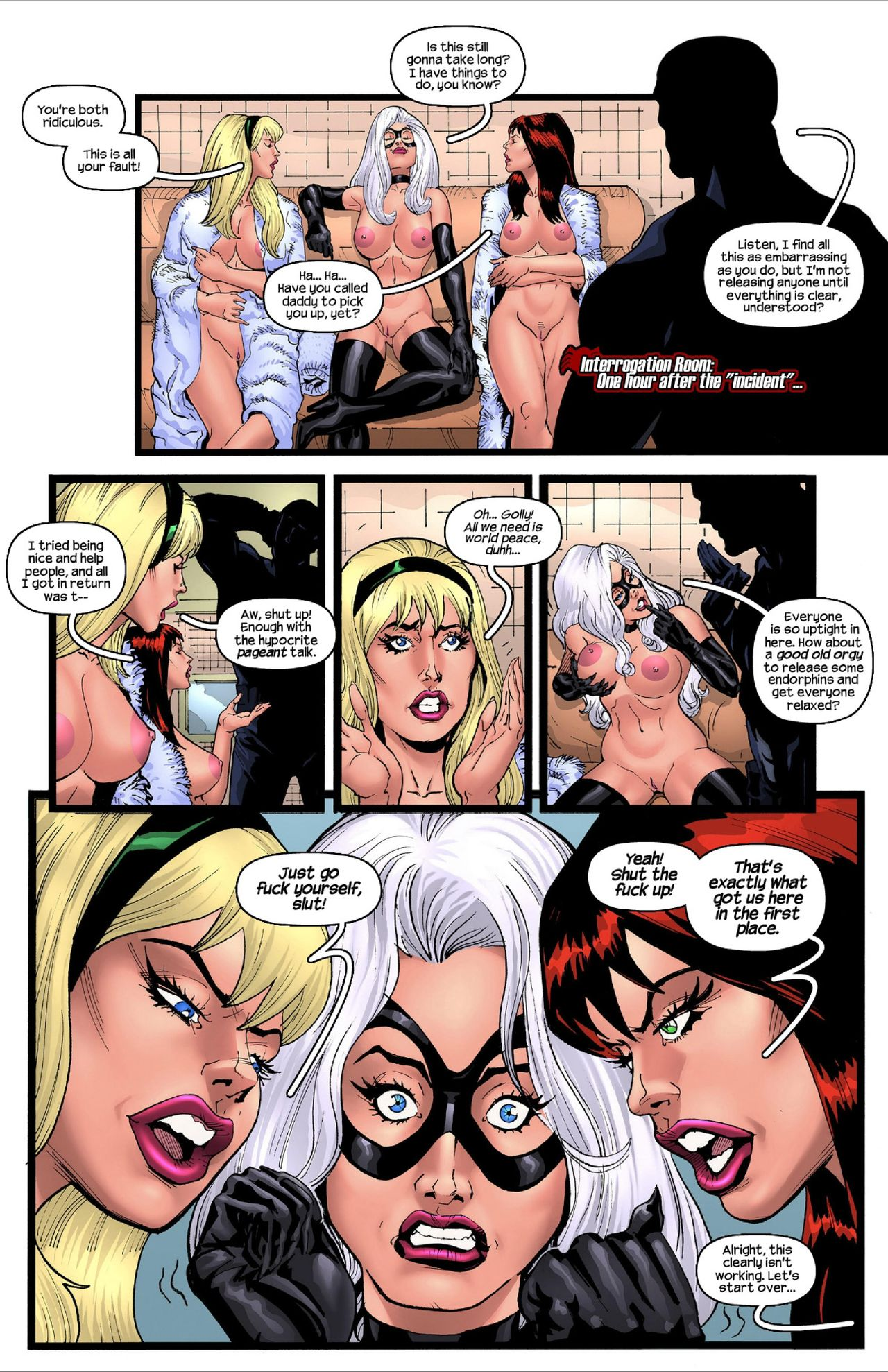 Tracy Scops, Karl Paulson- A Tale of Triplicity (Spider-Man) | Porn Comics