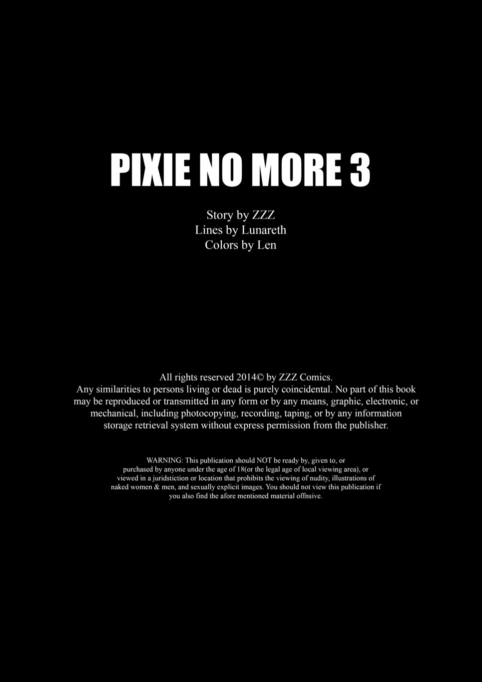 ZZZ- Pixie No More 3
