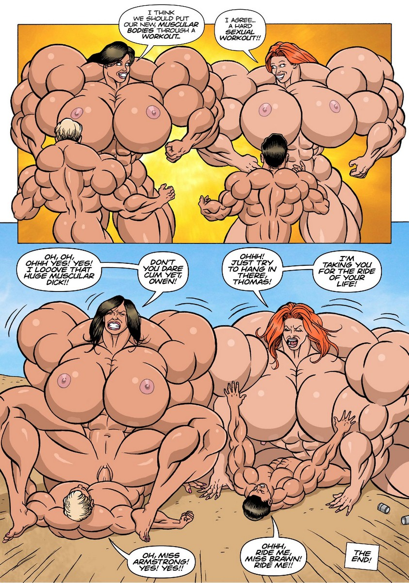 Female Muscle Frenzy 5- Kinky Rocket
