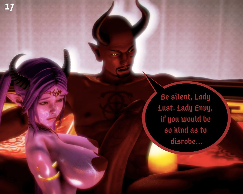 Tittiesevolved- The Seven Delectable Sins