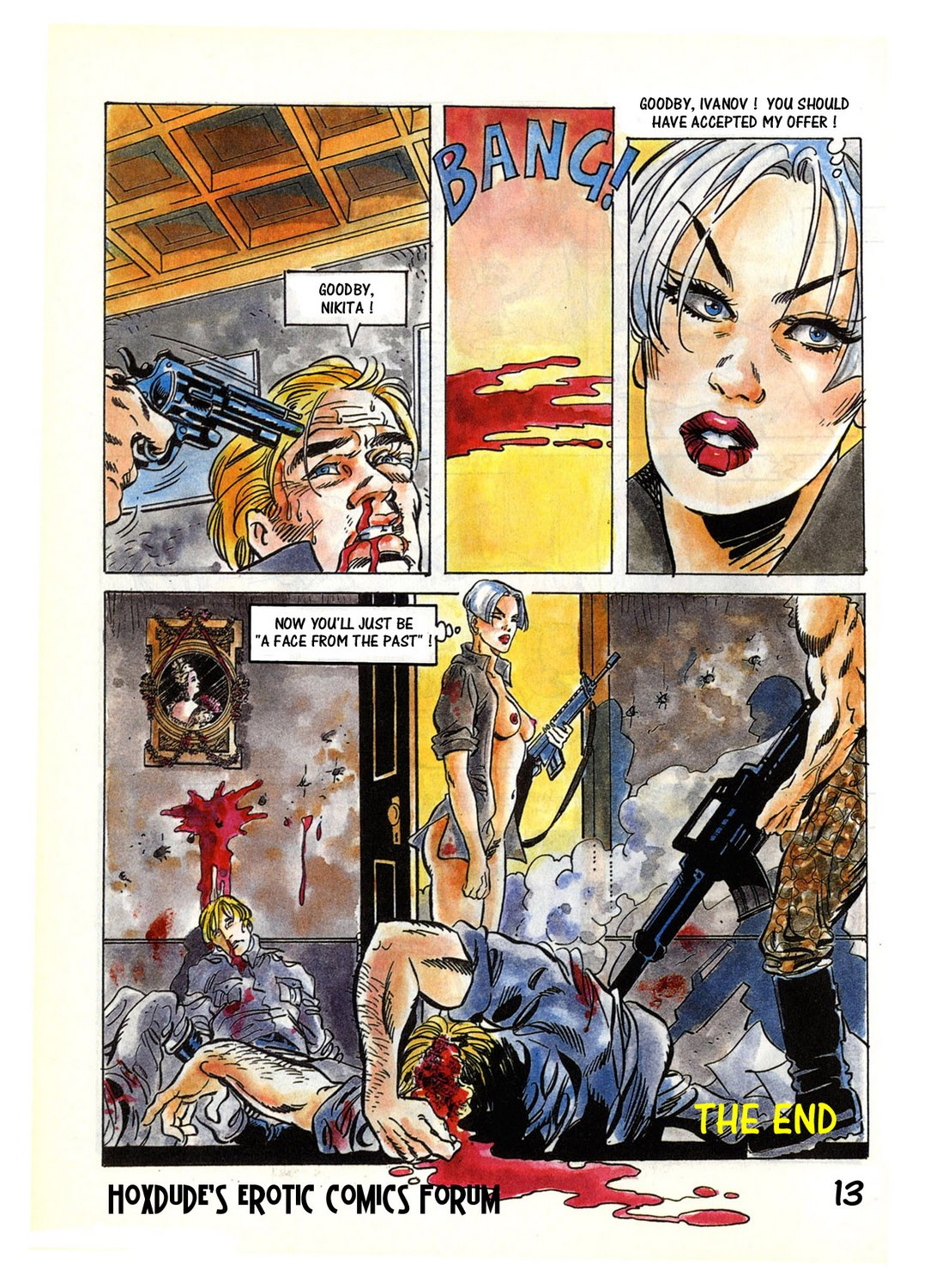 A Face from the Past – Onnis/Pesce (Erotic Comix)
