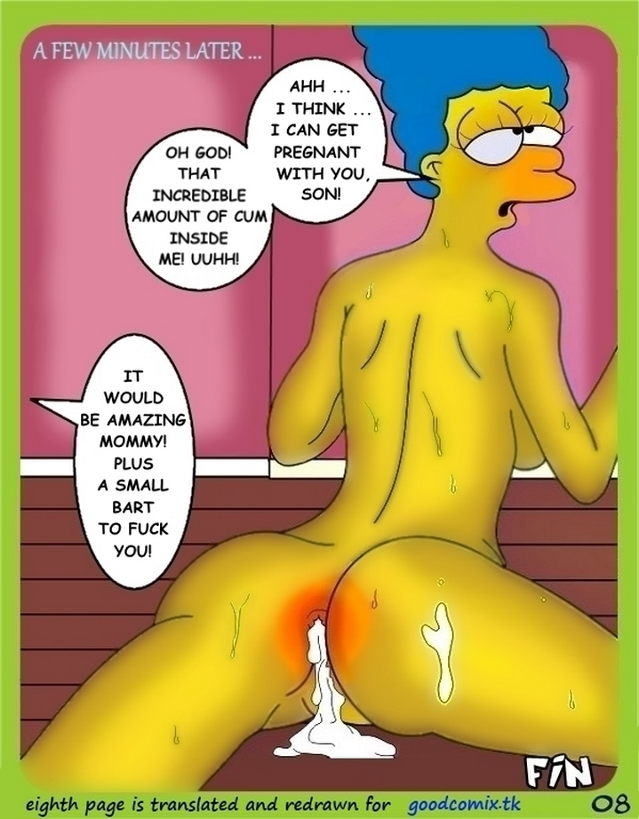 Toon Babes – Marge Simpsons